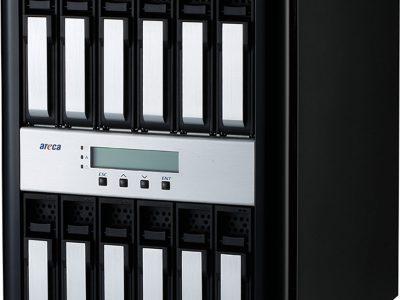 ARC-8042 12ベイ12Gb/s SAS to SAS RAID Subsystem