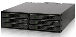 ToughArmor MB996SP-6SB  6 x 2.5インチSATA 3 HDD/SSD搭載用モジュールケース