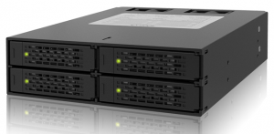 ToughArmor MB994SP-4SB-1 4 x 2.5インチSATA HDD/SSD搭載用モジュールケース