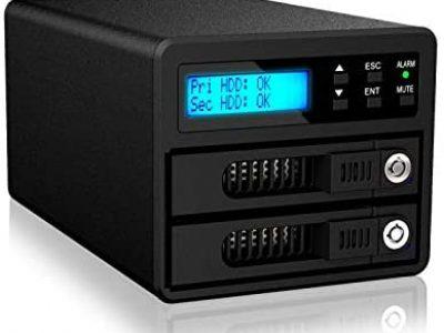 """GR3680-SB3(2 Bay 2.5-3.5""""SSD/HDD External RAID Storage)"""